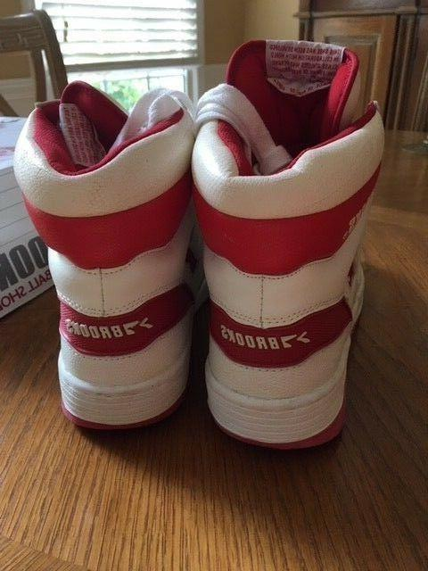 NIB Vintage Dominque Basketball Shoes Size 11.5 Red