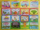 Learn to Read Childrens Book Set Preschool Kindergarten Home
