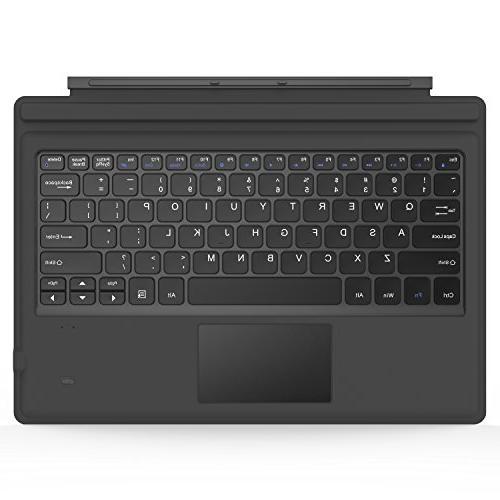 MoKo Microsoft Surface Pro 4/Pro 3/Surface Pro 2017 Type Cov