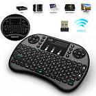 With BACKLIGHT Rii Mini i8+ Wireless Keyboard  for Smart TV