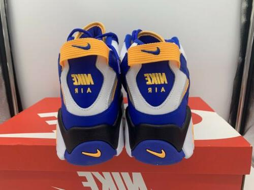 Nike Air Warriors Men Basketball Shoes Rams Yellow