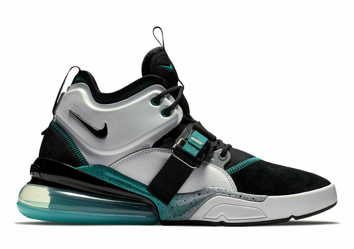 Nike Mens White Grey Emerald