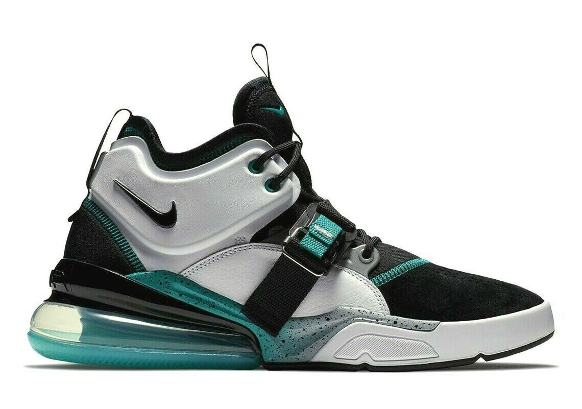 air force 270 mens basketball shoes black