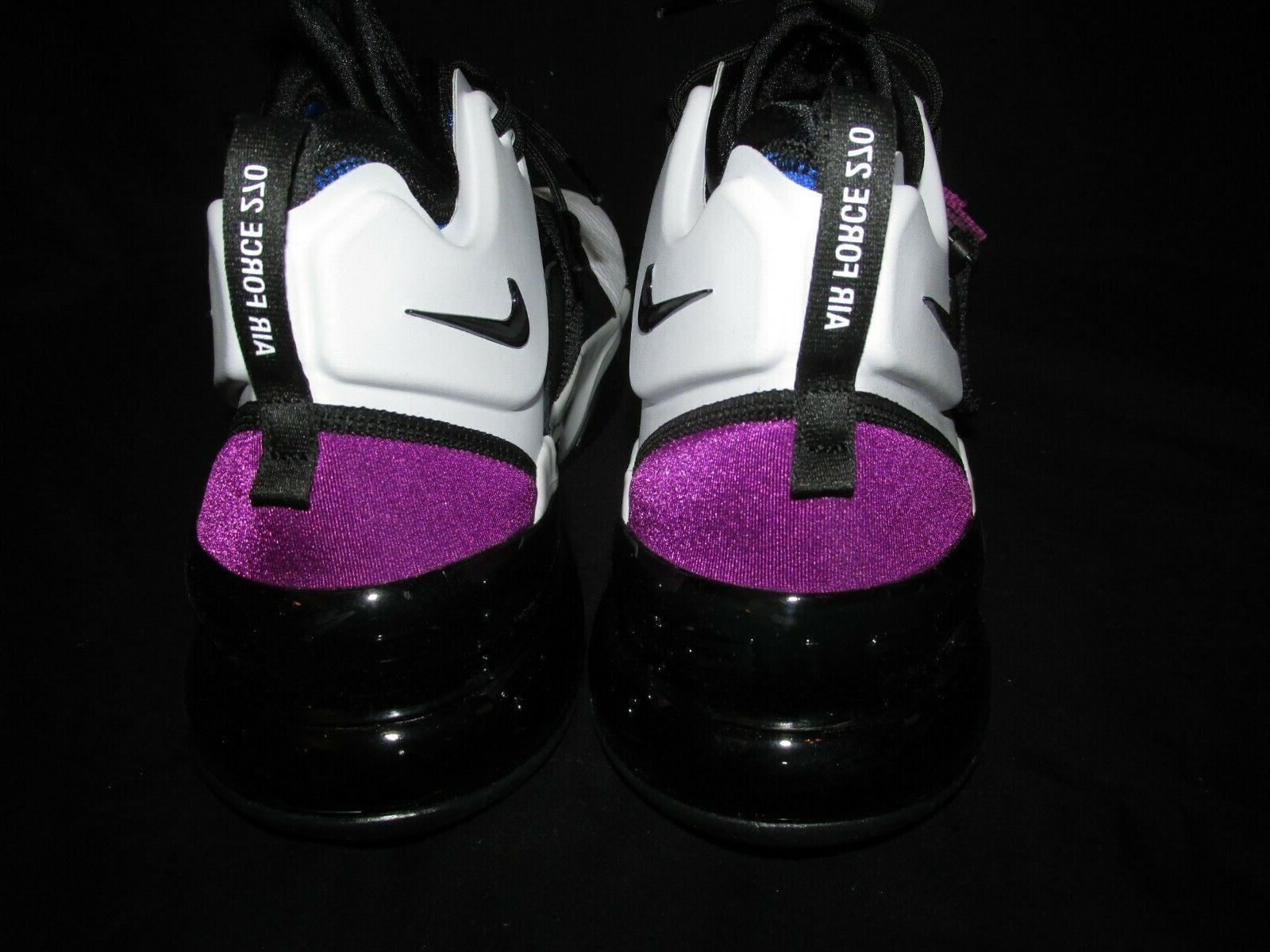 Nike Air Force 270 Mens White Black Lyon Blue