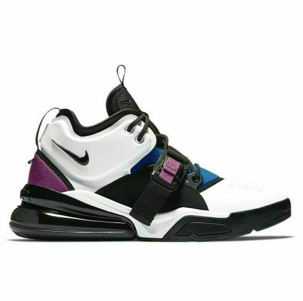 air force 270 mens basketball shoes white
