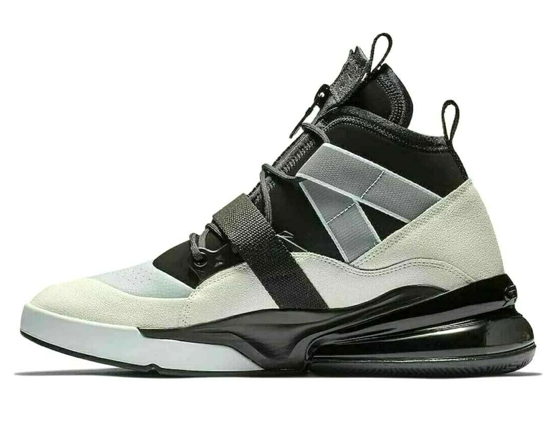 Nike Air 270 Utility Mens Basketball Black Sail White