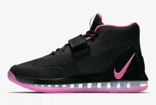 Nike Air Force Max Black/Pink Blast Mens Size 9.5 Basketball