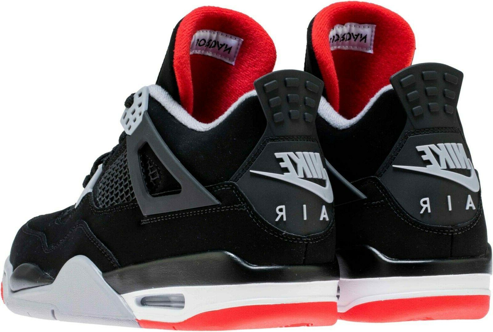 Air 4 Bred Retro Cement Red 308497 060