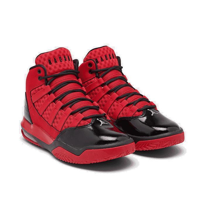 air jordan max aura basketball shoes red
