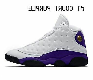 Air Jordan Retro Basketball Purple Sneakers