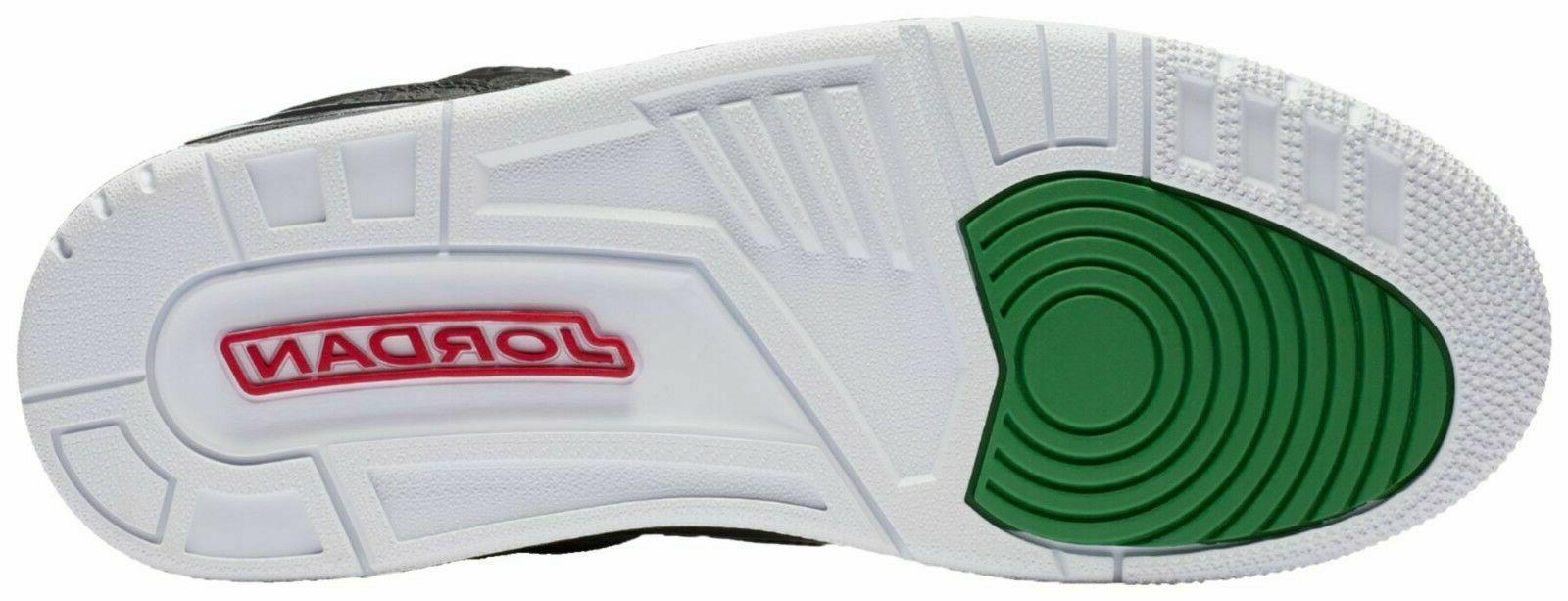 Nike Air Basketball Black Green
