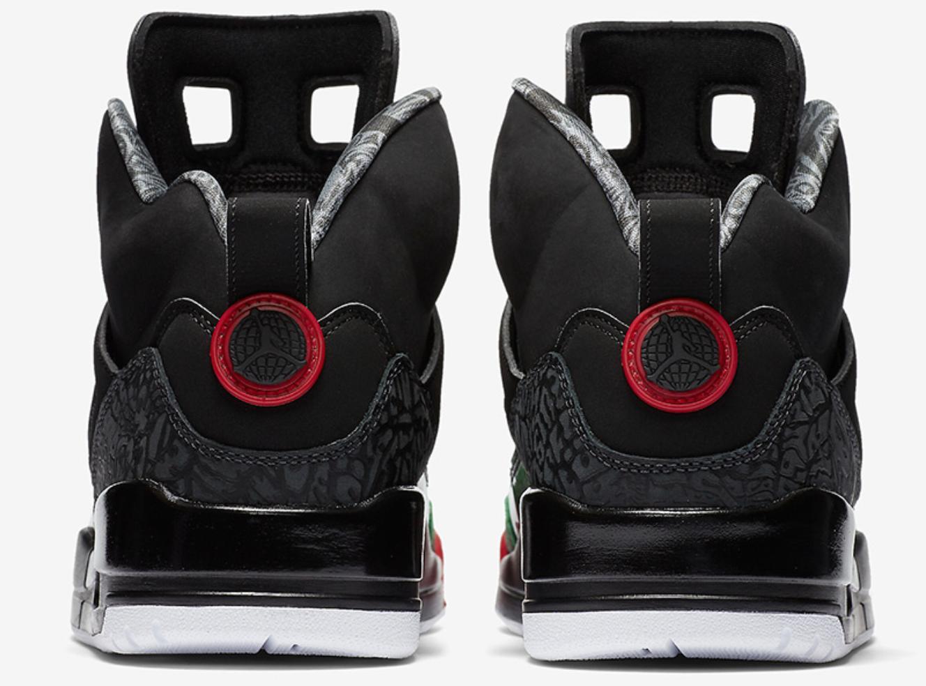 Nike Spizike Basketball Black Red