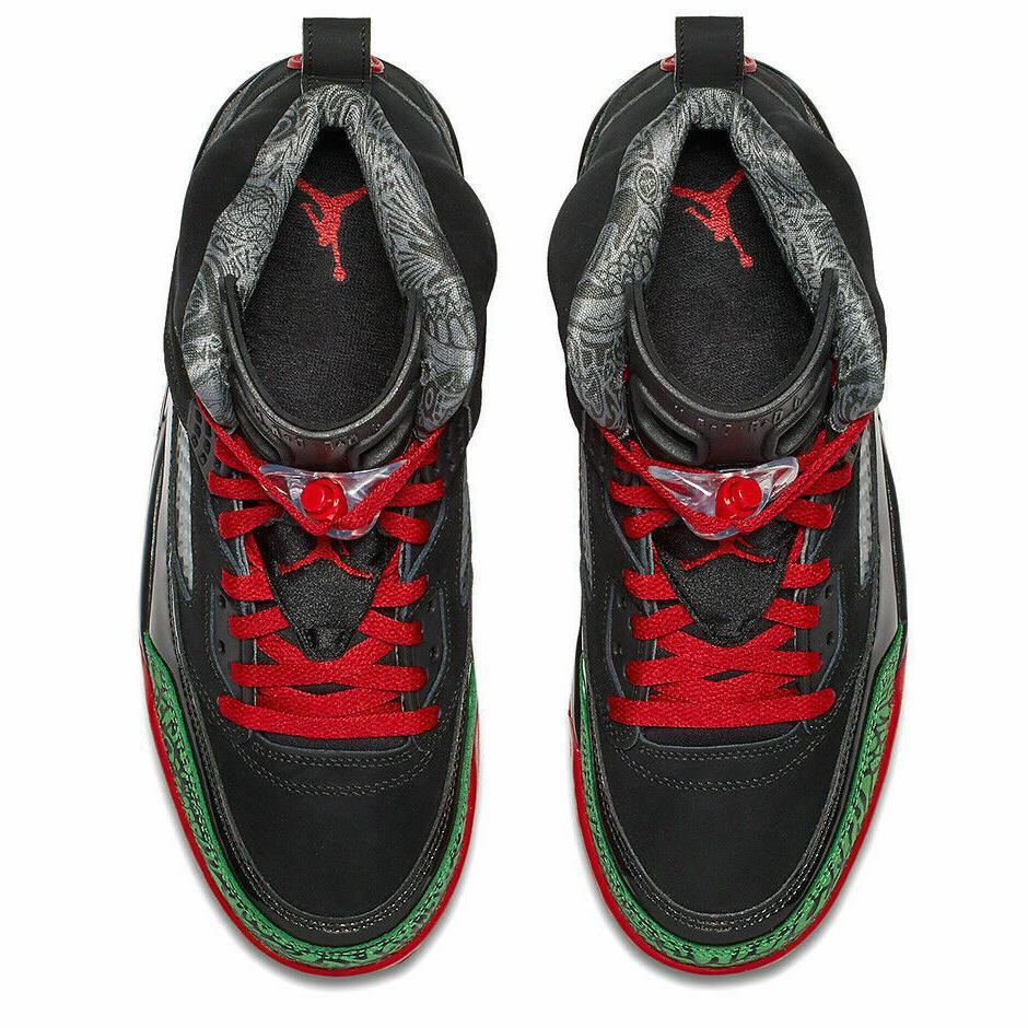 Nike Basketball Black Red Green Men's NEW