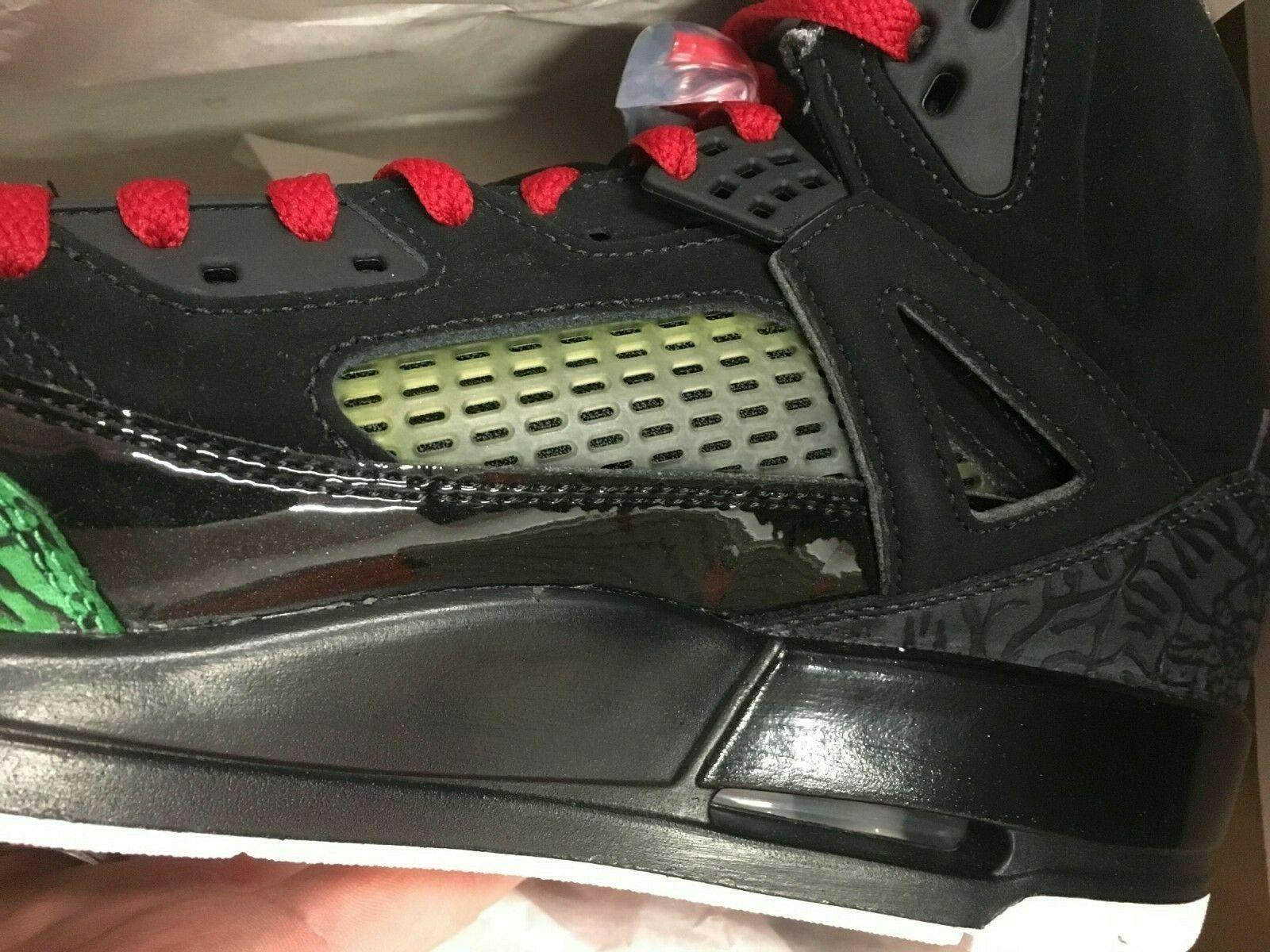 Nike Basketball Shoes Red Green NEW