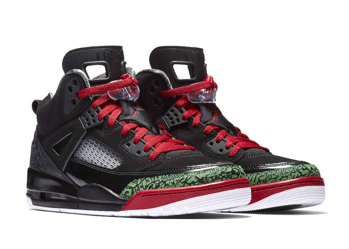 air jordan spizike basketball shoes black red