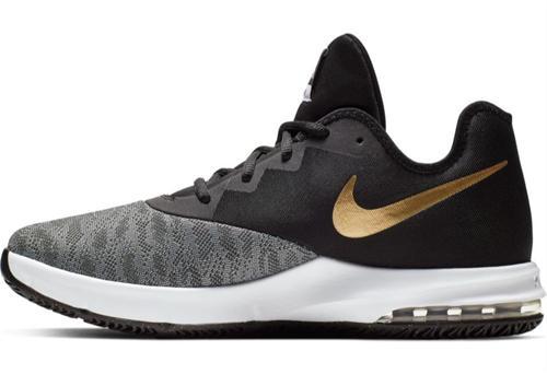 Nike Air Infuriate III Basketball Shoes AJ5898 Gold NIB
