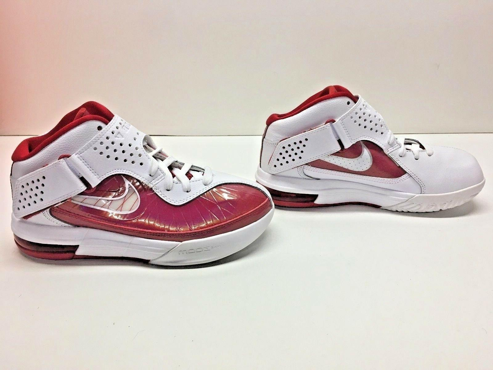 Nike Max Soldier V 5 TB Lebron Basketball White Shoes