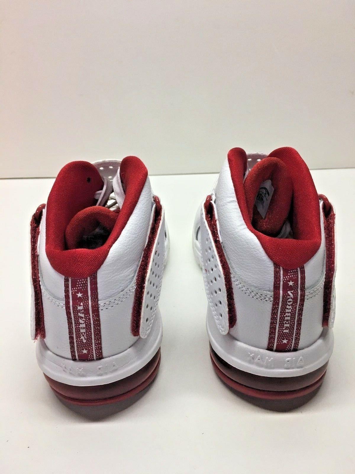 Nike V 5 TB Lebron Basketball White Sneakers Shoes