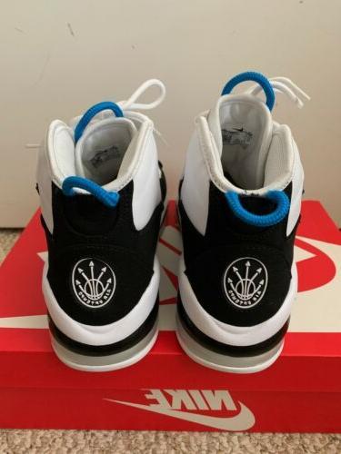 Air Max White Blue Black Basketball