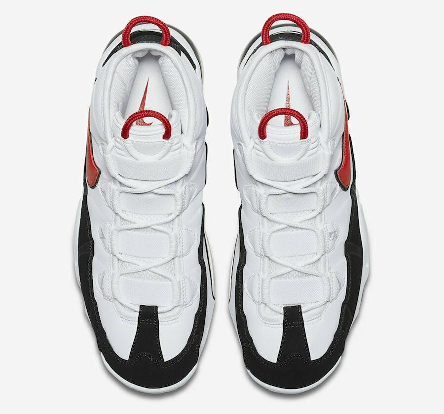 Nike '95 White Red CK0892-101 Basketball Shoes Men's
