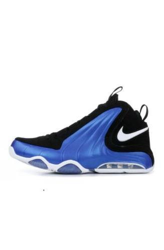 air max wavy basketball shoes blue mens
