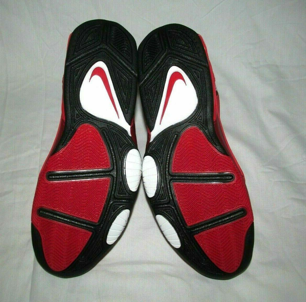 Nike Air Mens Shoes University Red Black AV8061-600