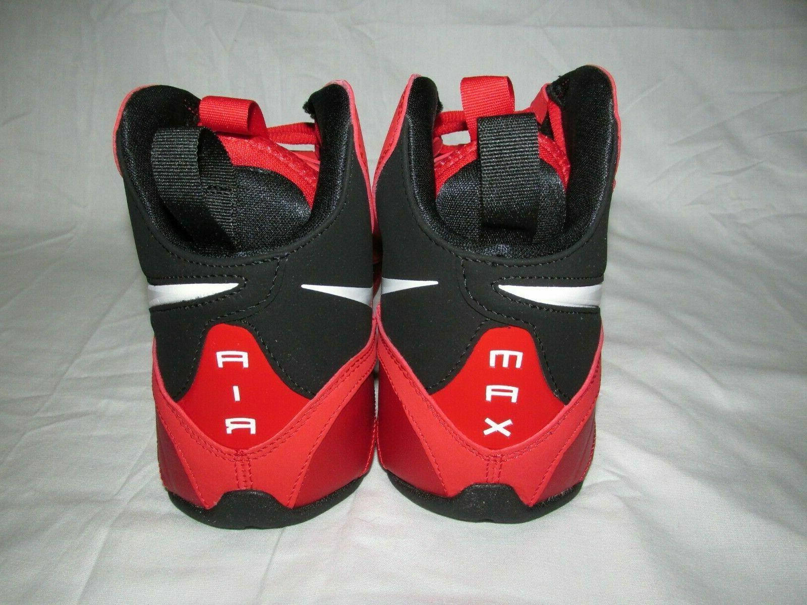 Mens Basketball Shoes Red Black