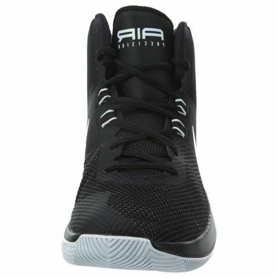 Nike Air Precision Basketball Shoes Gray 898455-001 Men's
