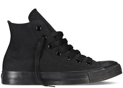 CONVERSE ALL STAR CHUCK TAYLOR M3310 BLACK MONOCHROME HI  BA