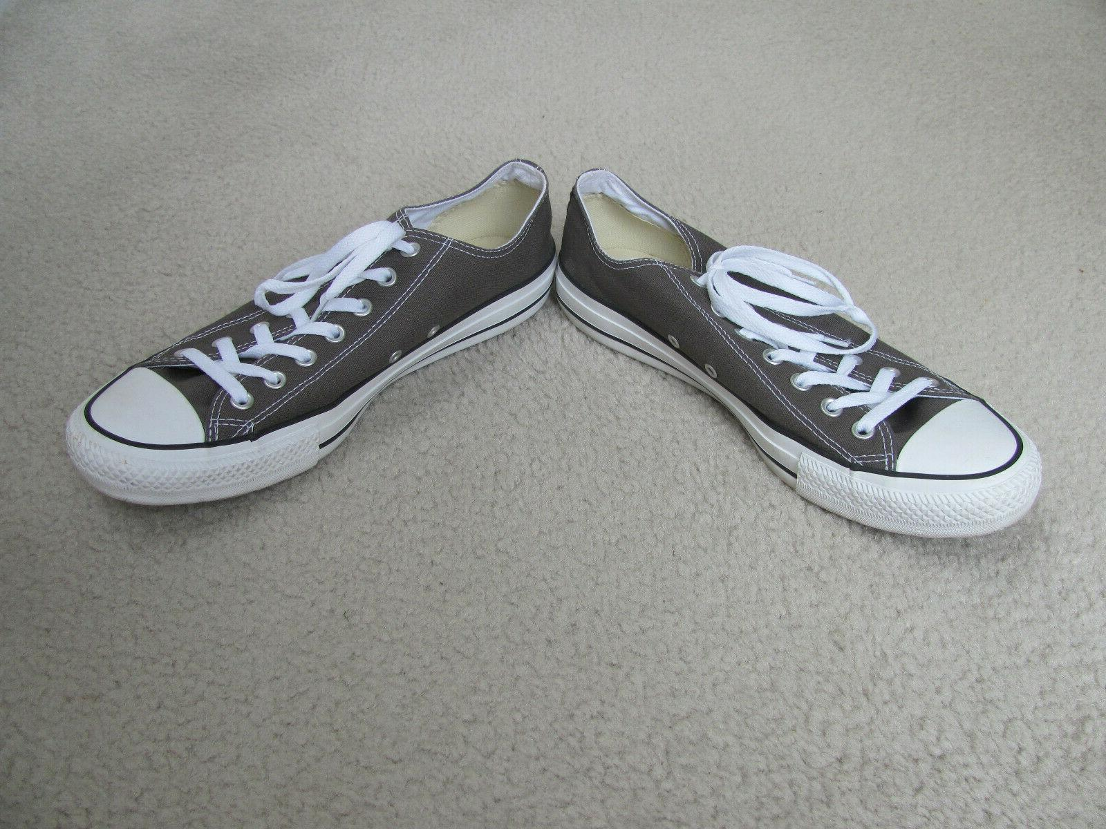 Converse Star Gray/Camo Colored Canvas Basketball Shoes 11-New