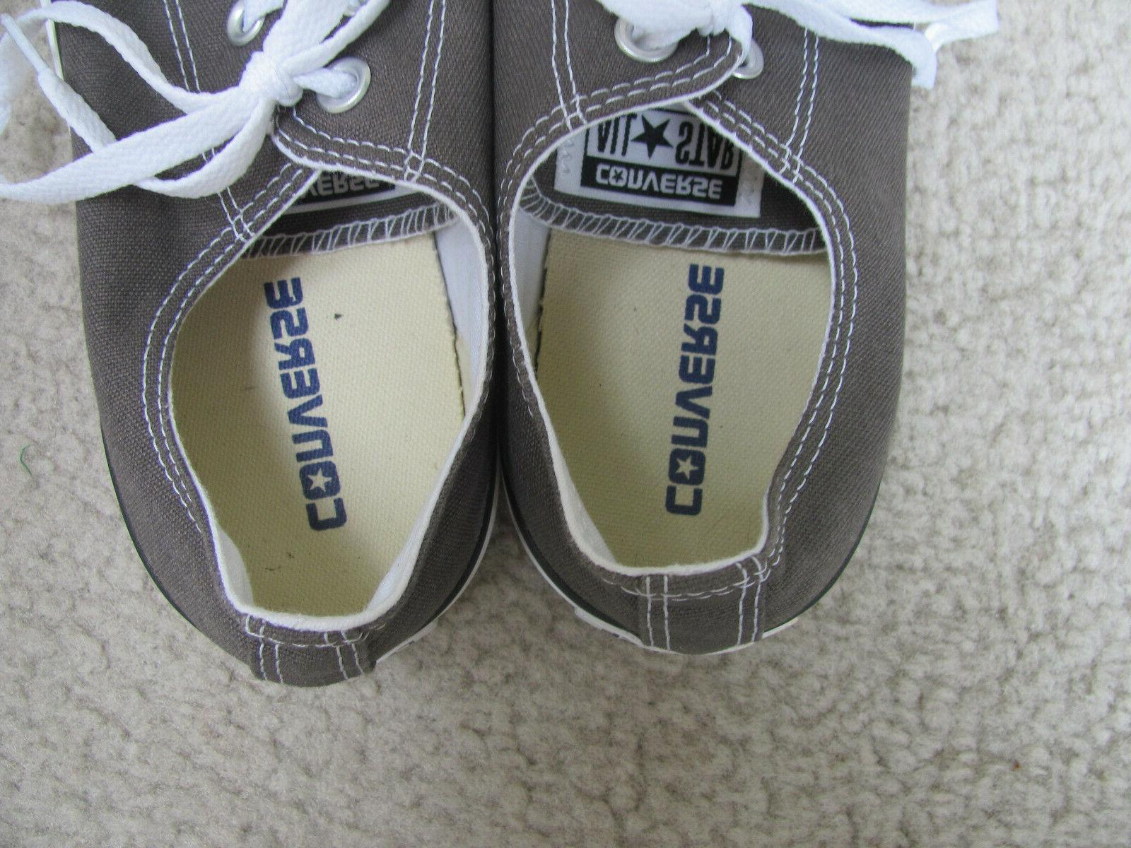 Gray/Camo Canvas Shoes Size