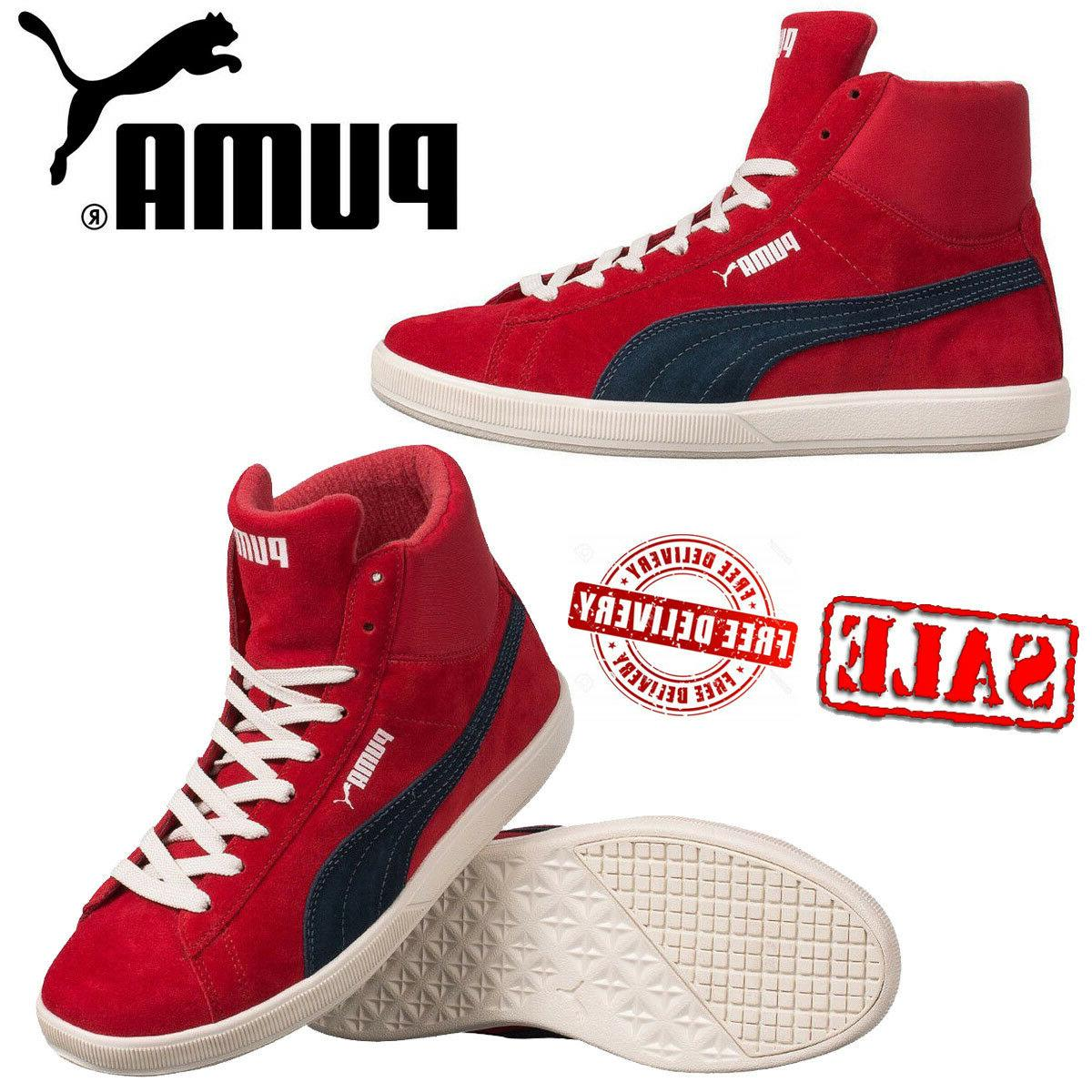 PUMA Archive Lite Basketball Shoes Leather Hi-Top Boots Retr