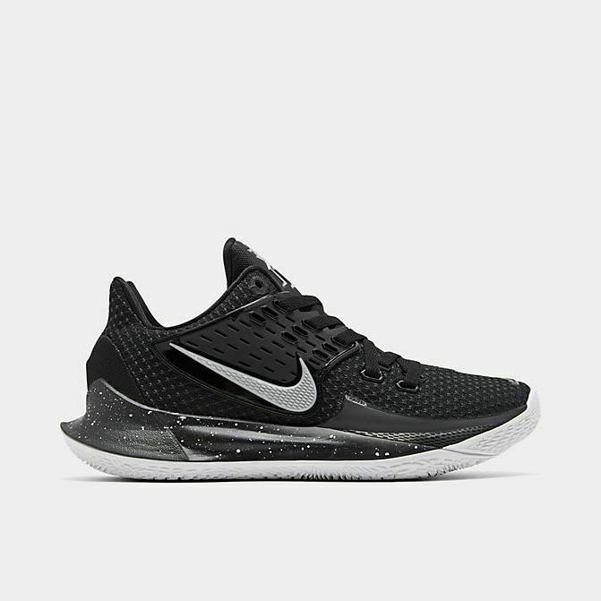 authentic basketball shoes black metallic silver men
