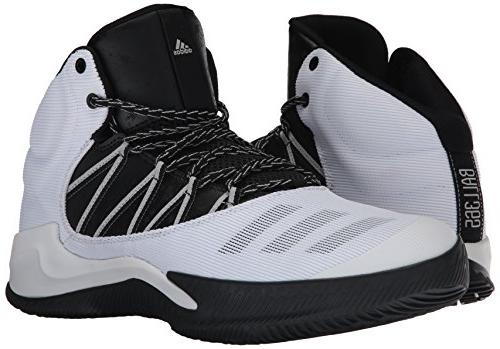 adidas | Ball Basketball, White/Black/Grey