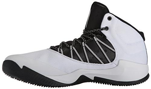 adidas Performance Men's Shoes | Ball 365 Basketball, White/Black/Grey