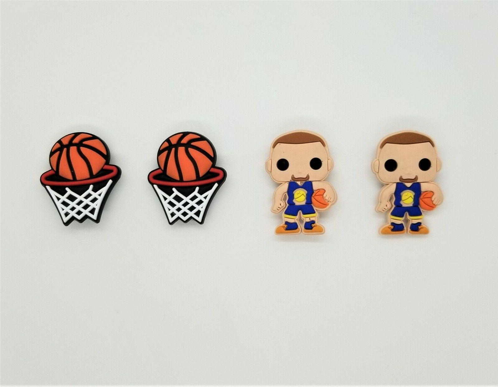 basketball shoe charms crocs wristband shoe lace