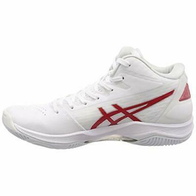 ASICS Shoes GELHOOP V11 White Red 1061A015 US8.5