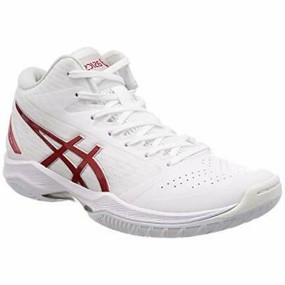 basketball shoes gelhoop v11 white red 1061a015