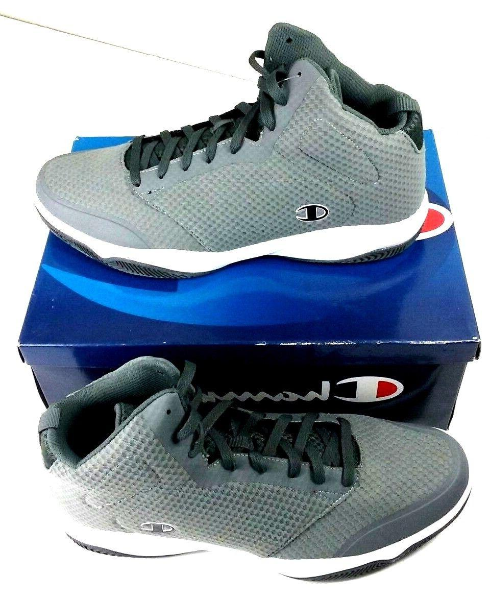 CHAMPION Basketball Shoes Mens Sz 15M Inferno Gray Athletic