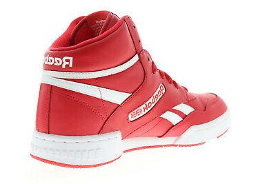 Reebok BB Mens Red Lace Shoes