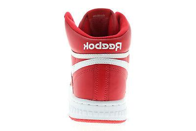 Reebok BB 4600 Mens Leather Athletic Lace Up