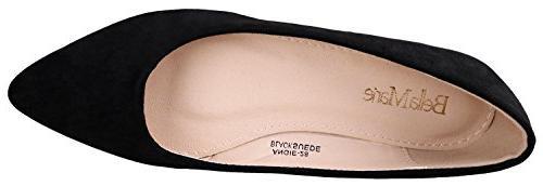 Bella Marie BellaMarie Women's Toe Ballet Shoes Suede