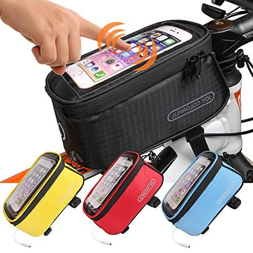 bicycle bags front tube frame
