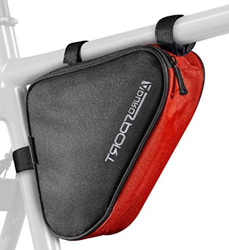 bicycle bike storage bag triangle