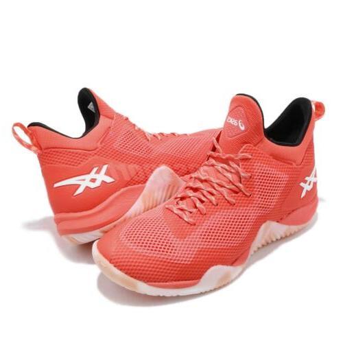Asics Blaze Nova Orange Basketball Shoes Sneakers