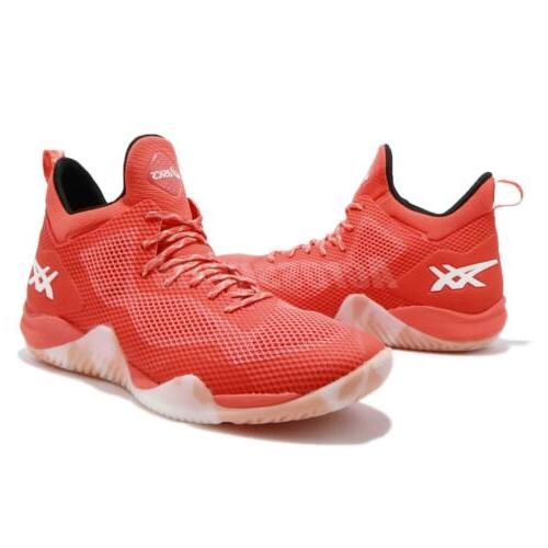 Asics Nova Orange White Men Shoes Sneakers