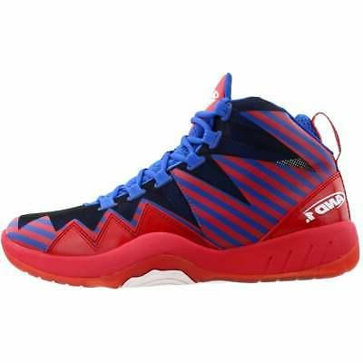 AND1 Boom Shoes Red Mens