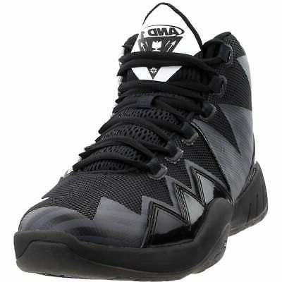 boom casual basketball shoes black mens