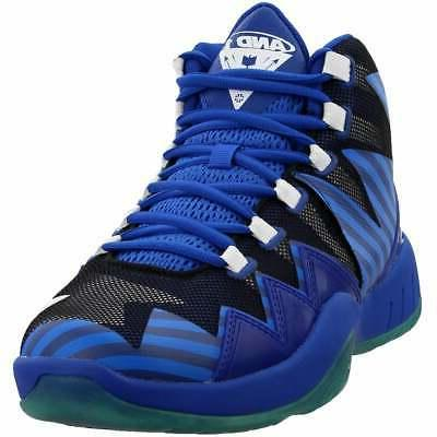 boom casual basketball shoes blue mens
