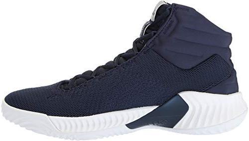 adidas Men's Pro Bounce 2018 White/Collegiate Navy,